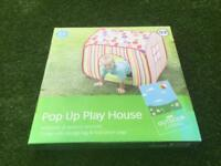 Pop up play house