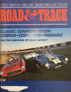 16 Car and Driver, Road & Track magazines from the Eighties