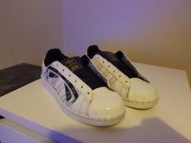 Original Star Wars Adidas Stormtrooper 5 1/2 No laces
