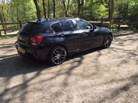 BMW 116D DIESEL 2014 FULL LEATHER NAV FULL SERVICE HISTORY 2 KEYS LOTS OF EXTRAS POSS PX SWAP W.H.Y