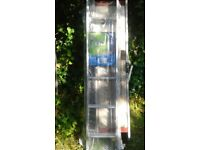 Loft Ladder Heavy Duty 2 Section Aluminium Never used As New still in polythene with instructions