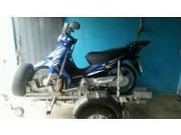 Suzuki 125 address motorbike