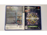 Who Wants To Be A Millionaire - Party Edition Playstation 2 Game