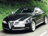 Mint Alfa Romeo GT 1.9 JTDM Blackline special edition.trade in considered, credit cards accepted