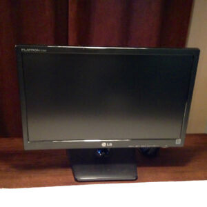 "LG- Flatron - LED monitor - 18.5"""