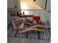 IKEA Wooden Train Sets