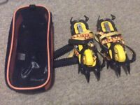 Grivel g12 crampons and crampons bag