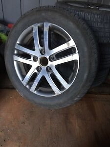 "16"" VW Jetta wheels and tires"