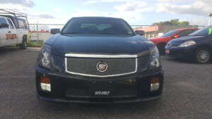 CADILLAC CTS-V *** STUNNING VEHICLE 400 HP *** CERT $14995
