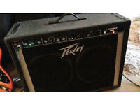 PEAVEY RENOWN 400 GUITAR AMP 200 watt very loud 2x 12 inch speaker