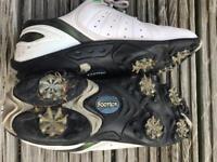 Boys Footjoy golf shoes size 4