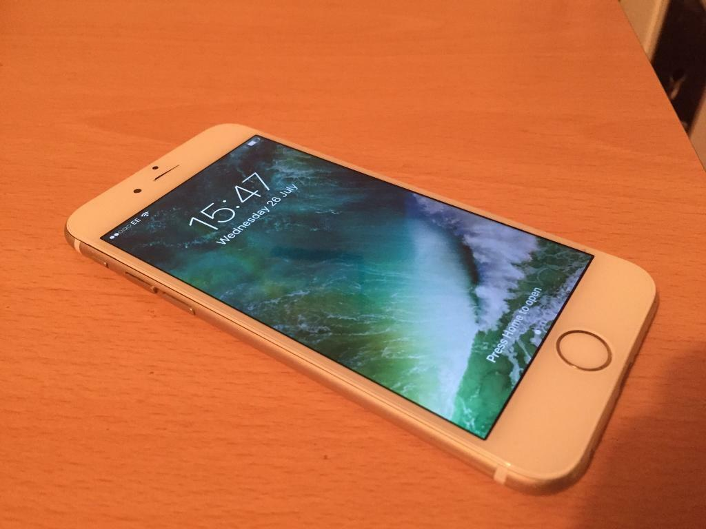 iPhone 6 16GB on EE network gold colorin Portsmouth, HampshireGumtree - iPhone 6 16GB on EE network gold colorSome marks on the back and sidesAll works as new Comes with usb charging cablecan delivery