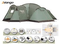 Vango Colorado 800 DLX Family Tunnel Dome Tent *8 MAN TENT*