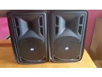 RCF ART 310A 350W RMS ACTIVE SPEAKERS WITH RCF COVERS
