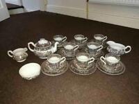 Royal tudor of coaching taverns 1828 whole set antique