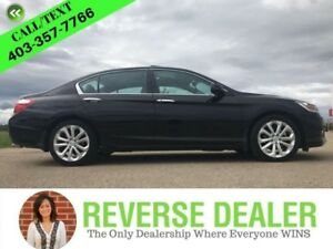 2014 Honda Accord Sedan Touring Edition, V6, Leather, Black