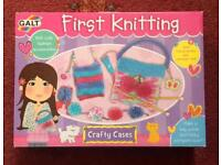 First Knitting Set - Brand New