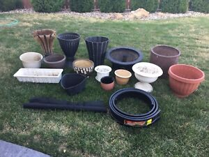 Pots and Misc. landscaping