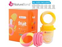 Baby Fruit And Food Pacifier / Dummy - Infant Teething - Vibrant Colours - Multi Size Teats