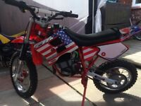 DBM kids motocross bike 50cc Morini Franco motori engine same as Ktm and husky 50cc