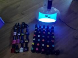 Gel nails plus gelux lamp essential nails