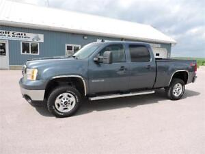 2012 GMC 2500HD SLE,DIESEL,SHORT,4X4,LOADED, ONLY 157 KM!!
