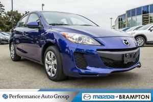 2013 Mazda MAZDA3 GX|BUCKETS|KEYLESS|MP3|CD|PWR STEERING
