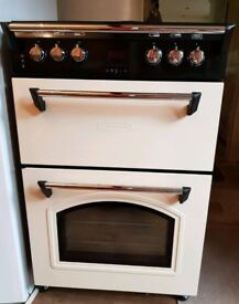 Leisure Electric Double Oven Cream