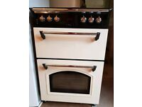 Leisure Electric Double Oven Cream