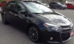 2014 Toyota Corolla SPORT BACK-UP CAMERA TWO TONE LEATHER HEATED