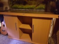 4ft Aquarium with stand, filter, heater and light unit