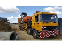 Plant,machinery haulage