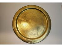 Egyptian Brass Plate