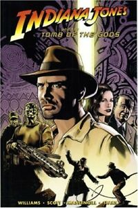 Indiana Jones & the Tomb of the Gods-Graphic novel + Indy dvd