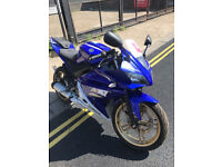 2013 Yamaha YZF R-125 r125 in Blue great condition