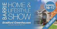 2017 Barrie Fall Home & Lifestyle Show!!