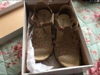 Brand new Beige sandals by Eaze