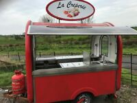 Catering trailer/Burger Van, very well equipped and in very good condition.