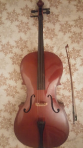 Cello (Full-Size, 4/4) Lightly Used, Great Condition