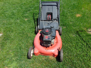 1 nice working lawnmower with bag tuneup done works well $100 51