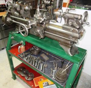 Metal Lathe 9 inch South Bend Precision Bench Lathe