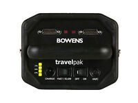 Bowens travelpak with 2 batteries and 2 leads.