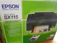 Epson SX115 Printer. 3 in 1