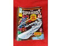 Marvel, The super heroes 1975 comics