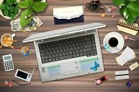 Document Preparation:  Typing, Data Entry, Proofread/Editing