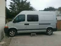 Renault master campervan conversion 2.5L 2007