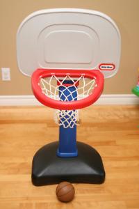 Panier de basketball Little Tikes + ballon