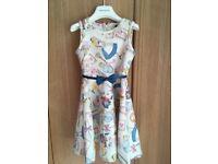 BNWT monnalisa Alice in wonderland dress cost £125
