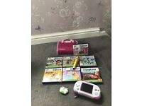 Leapster Explorer, games & bag