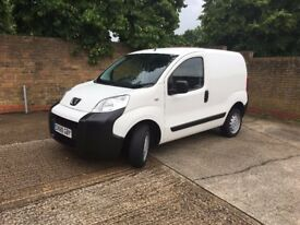 2011 PEUGEOT BIPPER 1.4 HDI VAN ONLY 72,000 GENUINE MILES FROM NEW YEARS MOT SUPERBLY CLEAN NO VAT